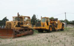 Row of Equipment