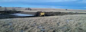 Building Farm Pond